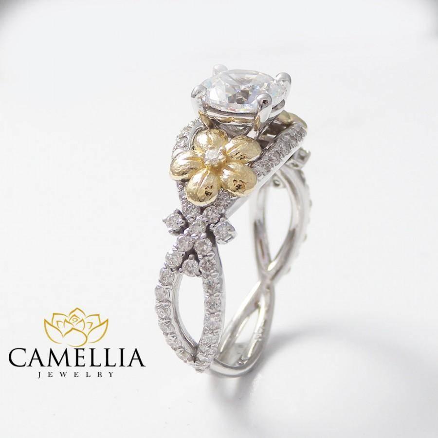 15 Best Ideas of Diamond Alternative Wedding Rings