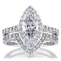 15 Ideas of Marquise Cut Diamond Wedding Rings Sets