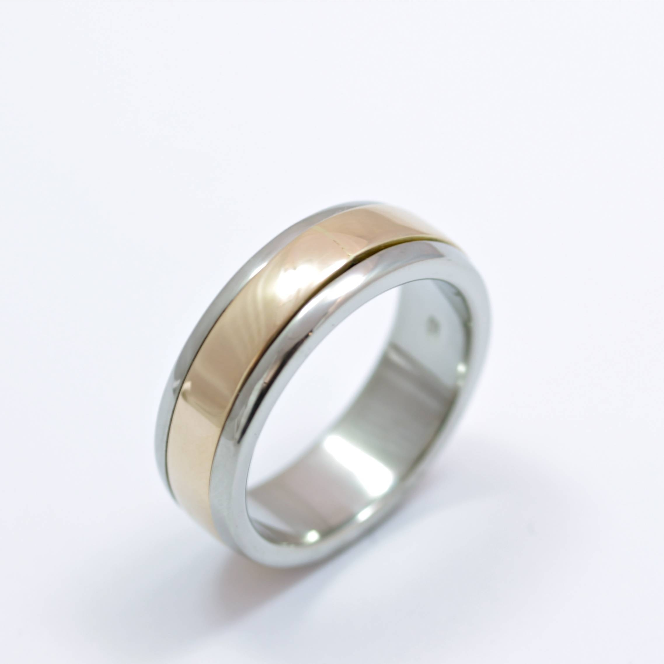15 Inspirations Of Mens Spinning Wedding Bands