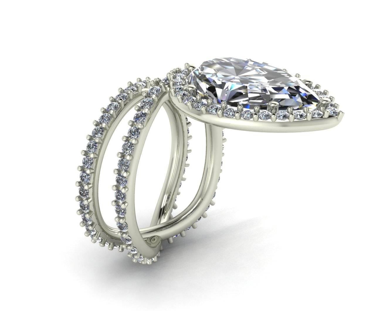 2019 Popular Custom Design Wedding Rings