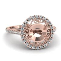 15 Ideas of Wedding Rings Mounting Sets