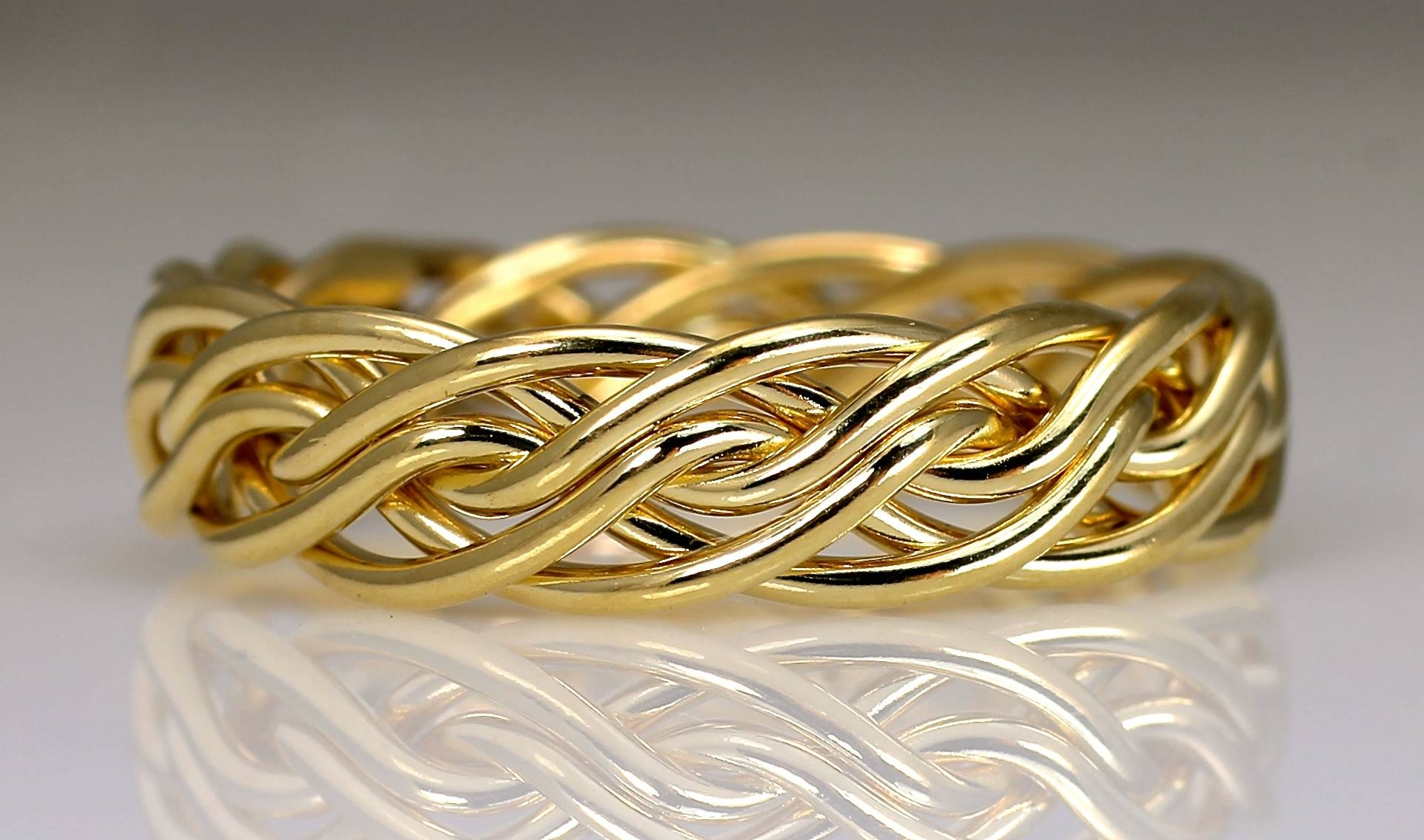 15 Photo Of Mens Braided Wedding Bands