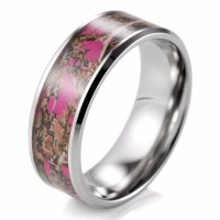 15 Best Ideas of Camouflage Wedding Bands For Him