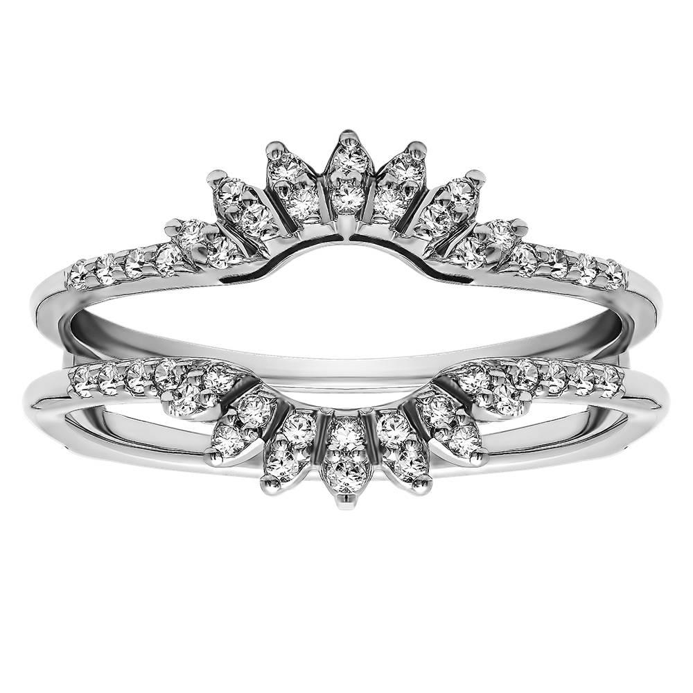 Famous Wrap Around Engagement Ring Wedding Band Ideas The Wedding