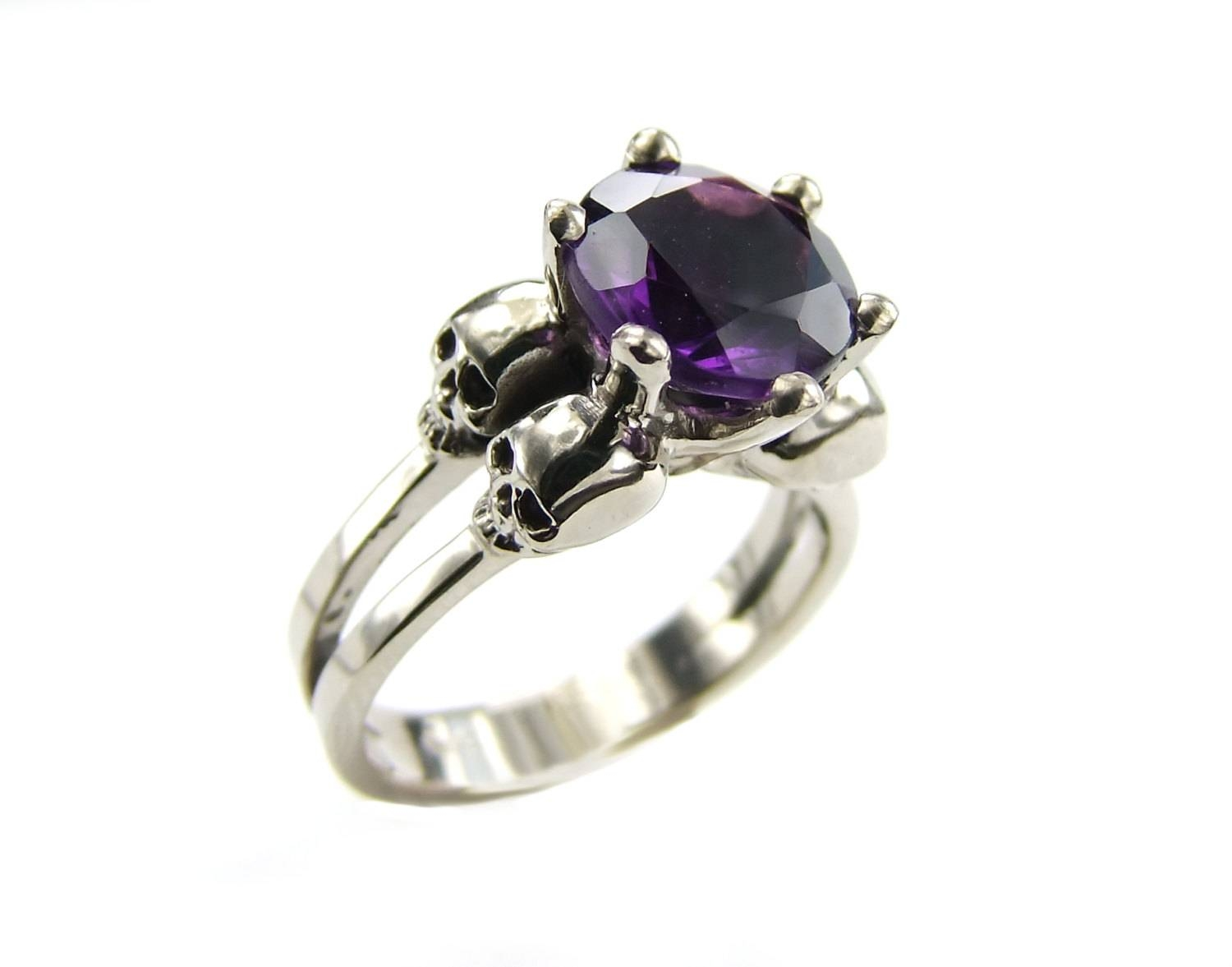 15 Best Ideas Of Gothic Engagement Rings For Women