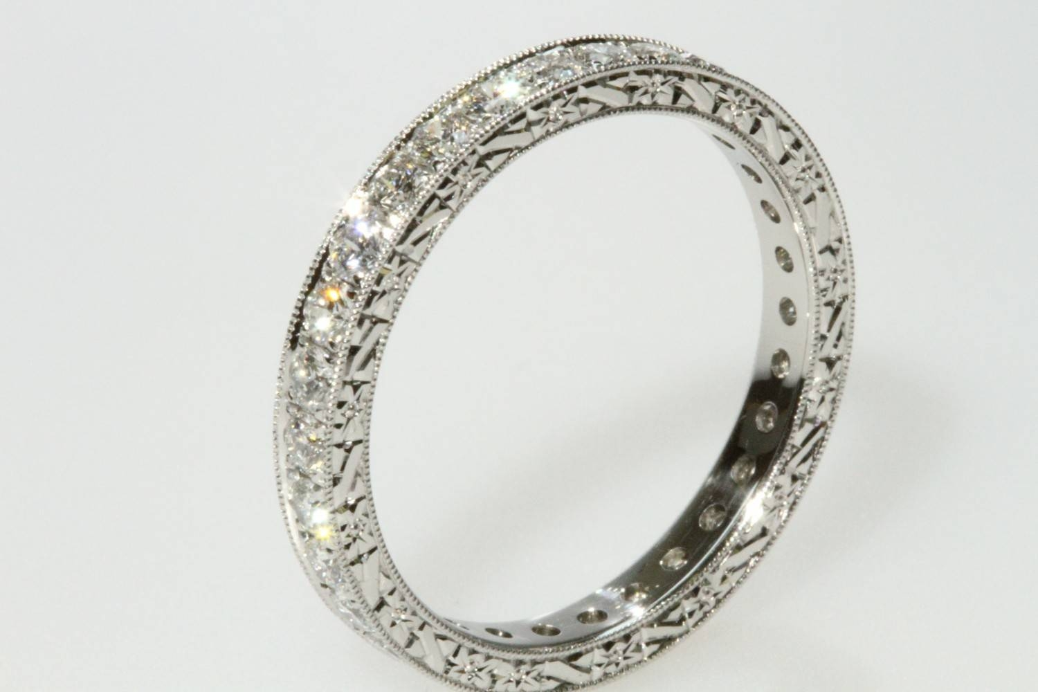 15 Ideas of Victorian Wedding Bands For Womens