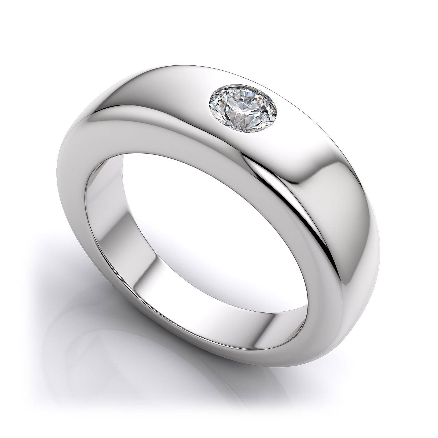 15 Best Collection of Platinum Mens Wedding Bands With