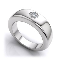 15 Best Collection of Platinum Mens Wedding Bands With ...