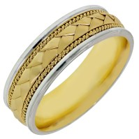 15 Best of White And Yellow Gold Wedding Bands