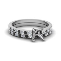 2018 Popular Wedding Rings Settings Without Center Stone