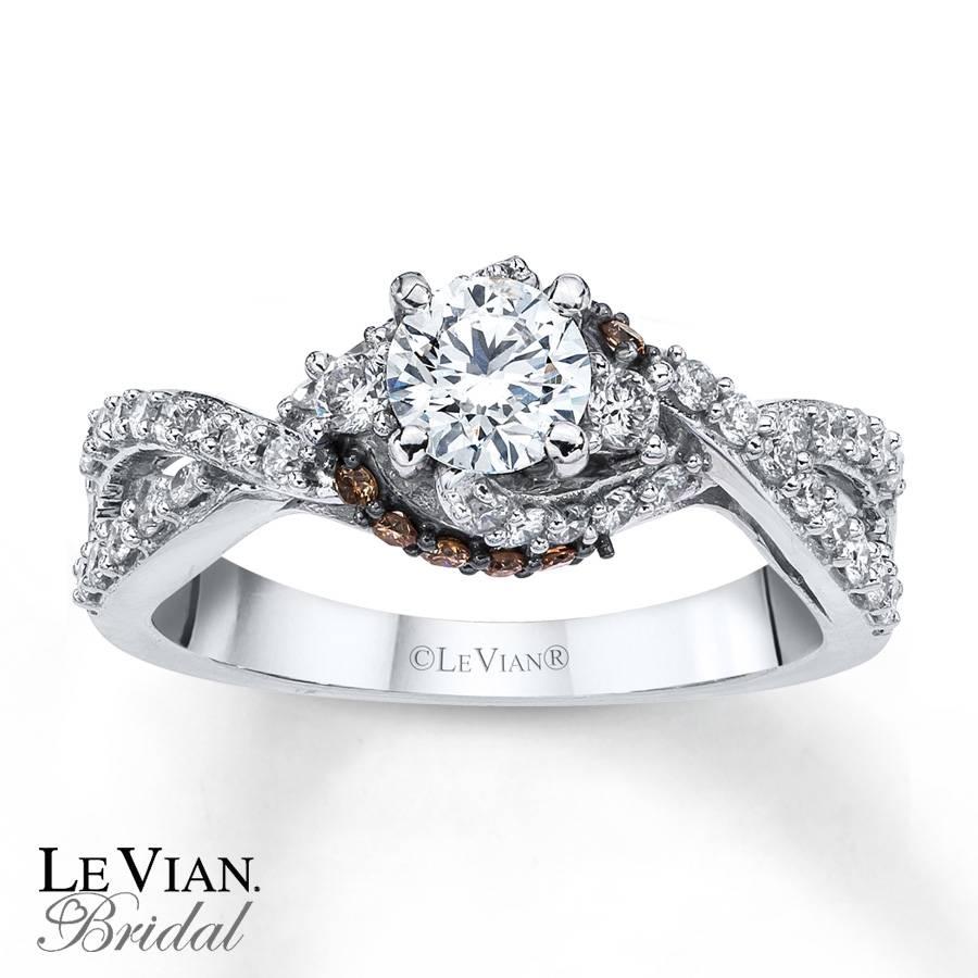 15 Photo of Chocolate Diamonds Wedding Rings