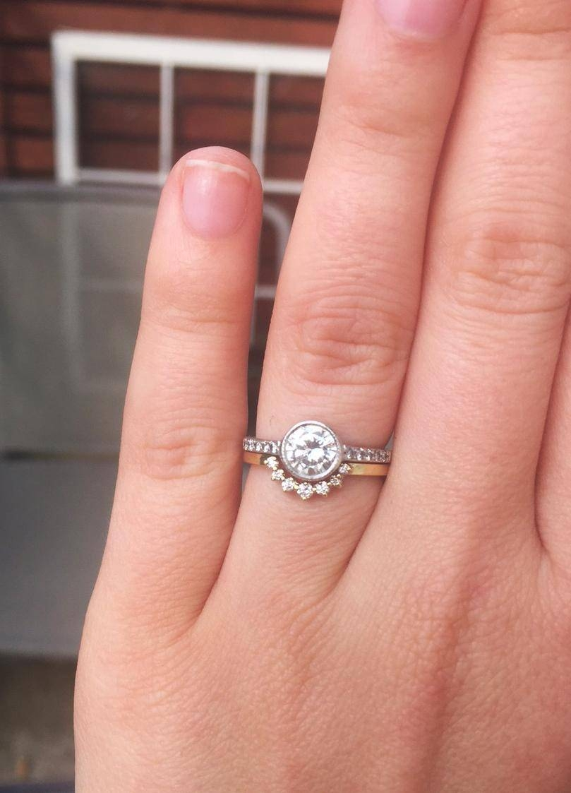 15 Ideas Of Ring And Wedding Band