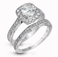 15 Best Ideas of Diamond Eleven Stone Vintage-Style ...