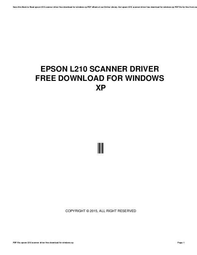 Download Reset Epson L210 : download, reset, epson, Download, Scanner, Epson, Fasrworlds