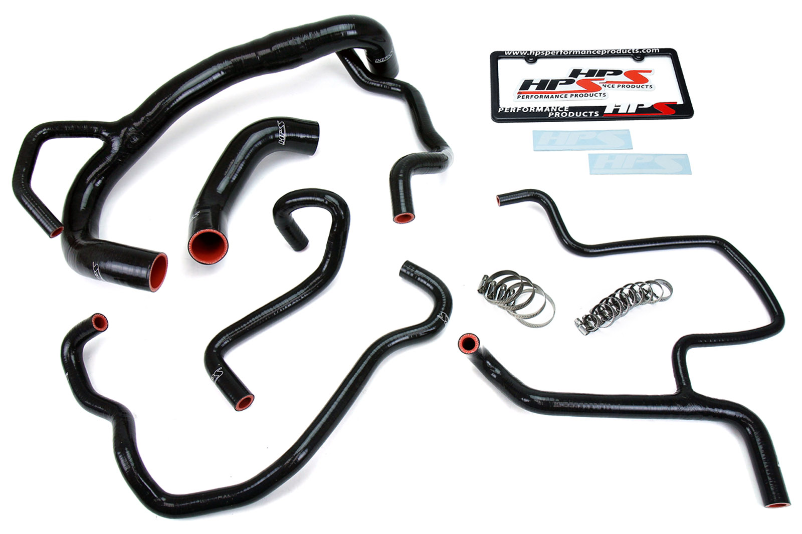 Hps Black Heater Hose Kit For 15 16 Charger R T Scat Pack