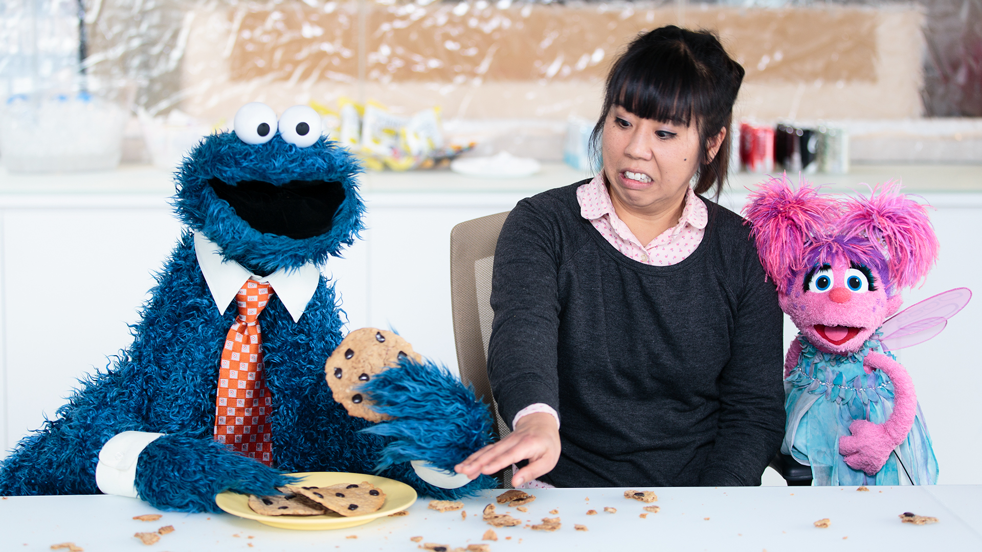 The Sesame Street Muppets Spread Kindness The Outtakes