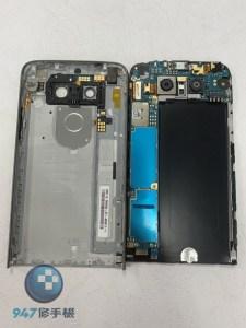 螢幕面板破裂不顯示的LG G5 沒事沒事! 更換螢幕面板就完好如初了! LG 手機維修