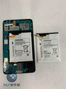 電池膨脹的三星平板 T230 脹的跟包子一樣阿快來更換電池吧三星平板維修