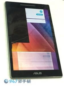 ASUS P024 螢幕面板破裂顯示異常黑一片! ASUS 平板維修