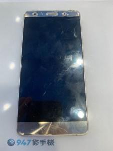 ASUS Z016DA 被車輾過螢幕面板沒破裂不過… 螢幕液晶破裂了所以不顯示!ASUS 手機維修