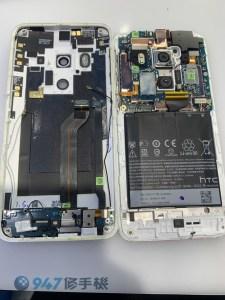 HTC Butterfly 蝴蝶機3代用兩年電池老化怎麼更換電池? 其實很簡單!! HTC 手機維修