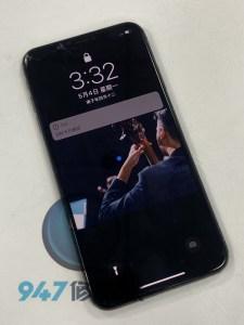 壓裂的IPHONE XS MAX ~無法觸控的螢幕! IPHONE 面板維修