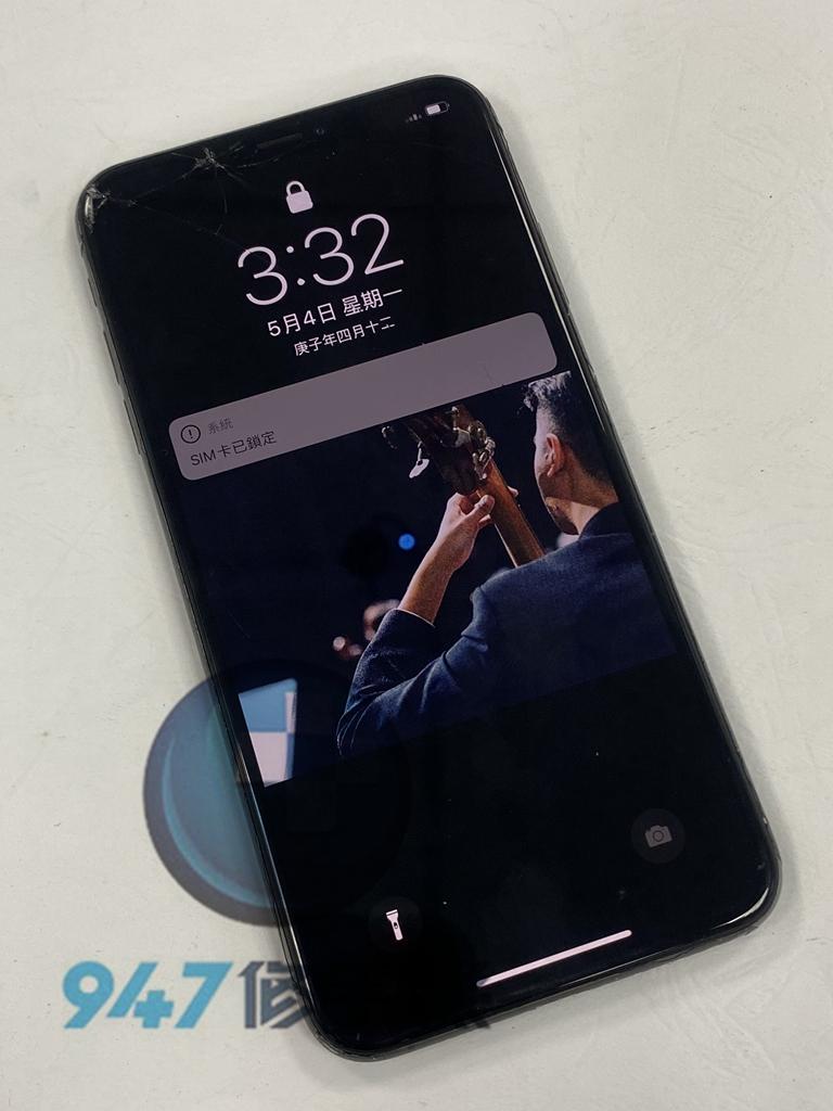 IXS MAX手機維修_面板更換_電池更換01