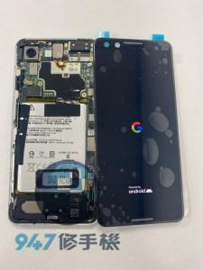 被撞到地上摔破的PIXEL 3 機主欲哭無淚 PIEXL 手機面板維修
