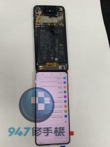 第一支鏡頭會360度翻轉的ASUS ZENFONE 就這樣摔破面板螢幕了!! ASUS 手機維修