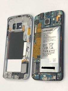 三星 S6 EDGE新機沒使用,放置了一段時間電池竟然膨脹了!? 三星手機維修