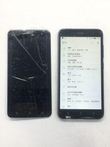 ASUS Z012DA 螢幕破裂,手機充滿了很多回憶,見證歲月的紀念品! ASUS 手機維修