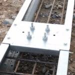 Estructura metálica en acero galvanizado