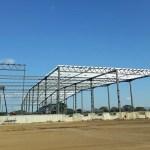 Estructura metálica industrial