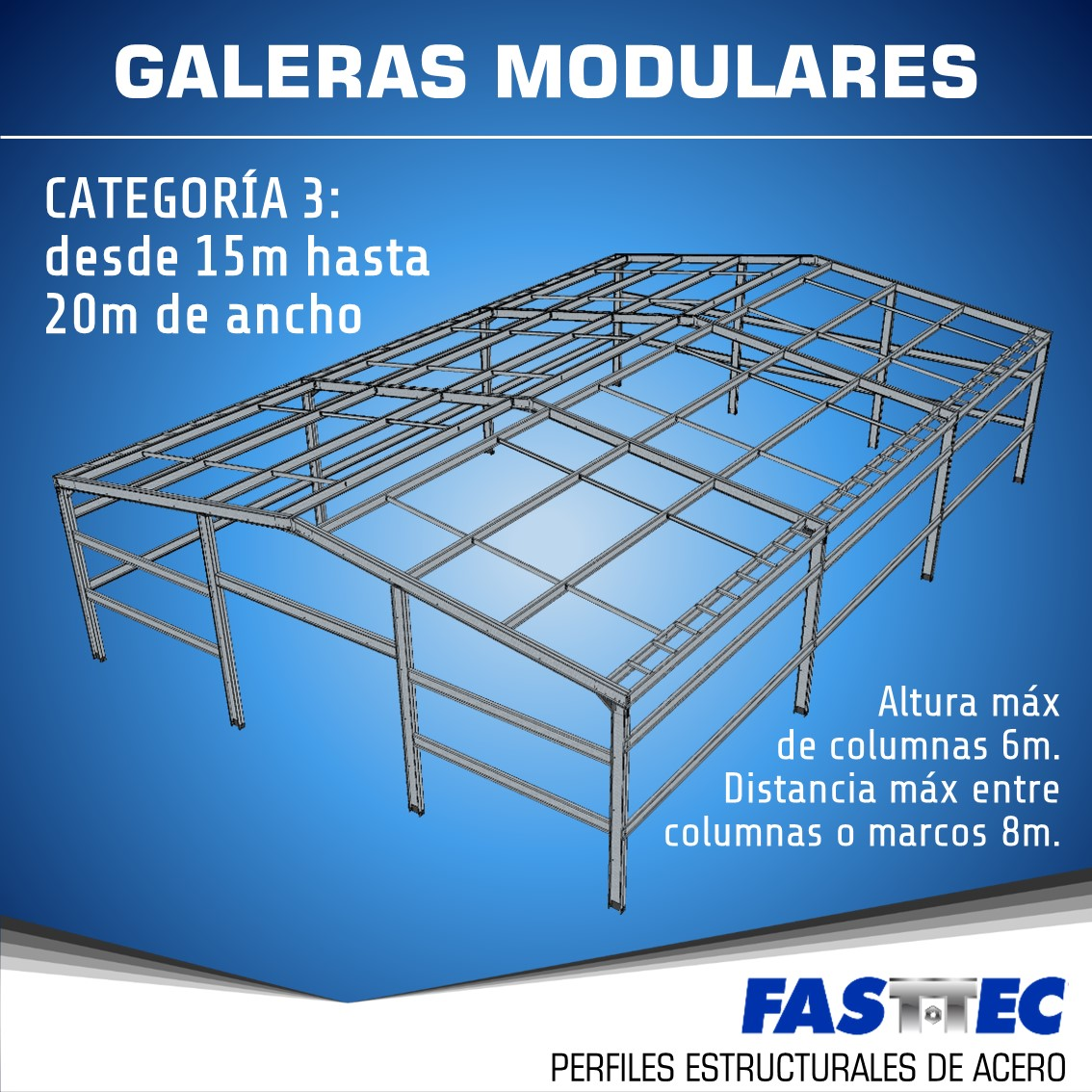 Galera Modular tipo 3