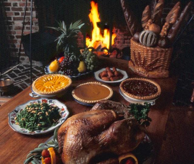 Thanksgiving Dinner Williamsburg Va