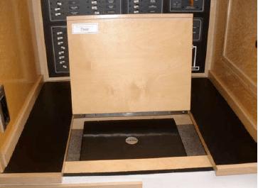 Nav station detail - laptop hidden