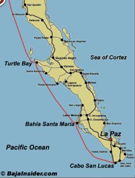 Baja Haha stops
