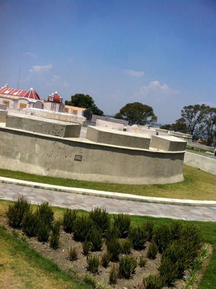 Fort involved in the Cinco de Mayo during the Battle of Puebla
