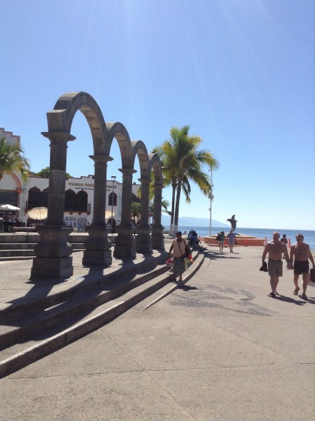 Strolling the malecon