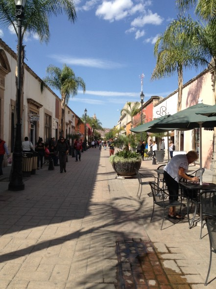 Colonial (old) Durango - now a promenade