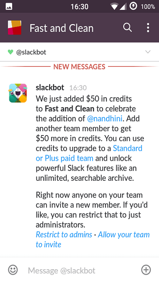 How to use Slack app?