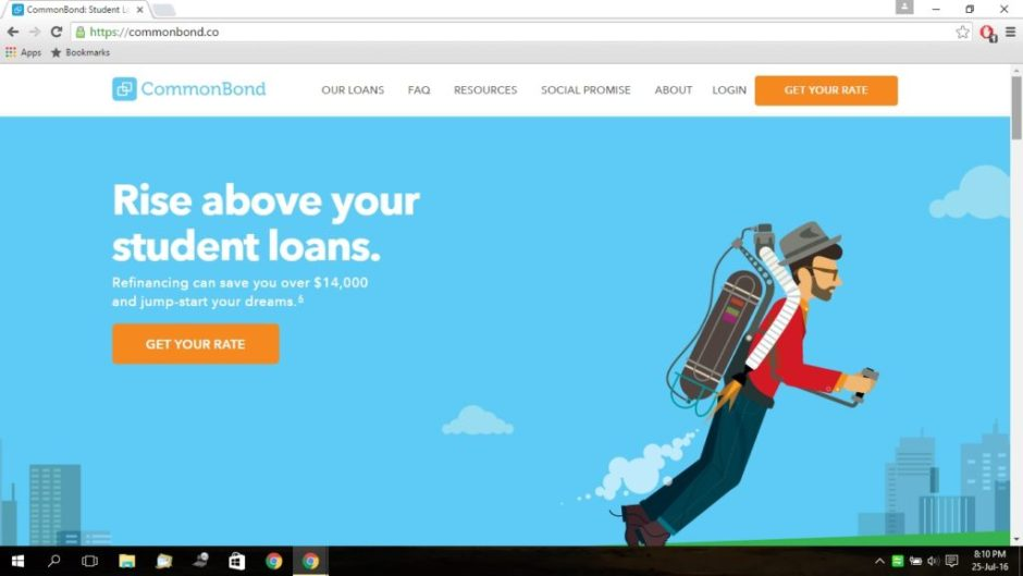 How to use CommonBond to get a student Loan