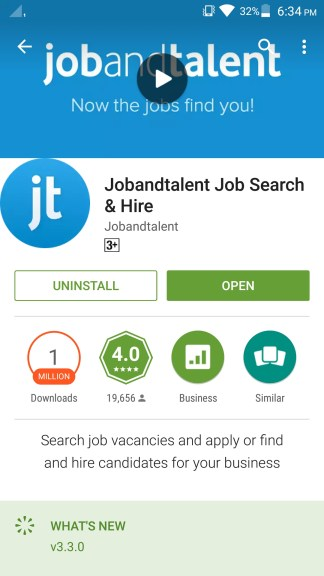 How to use Jobandtalent app