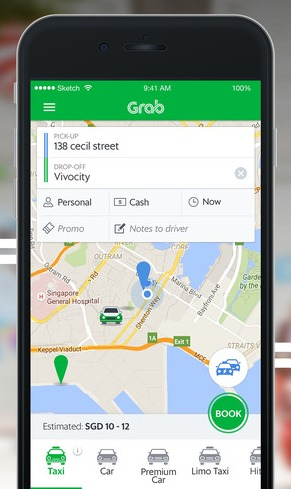 How grabtaxi works
