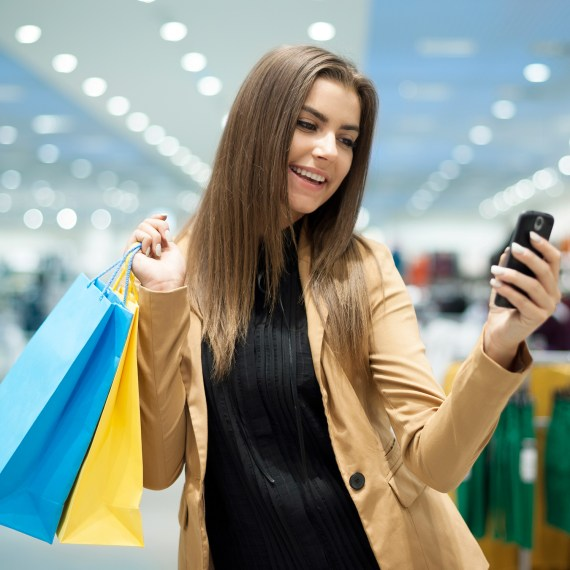 How to use Shoptiques app?