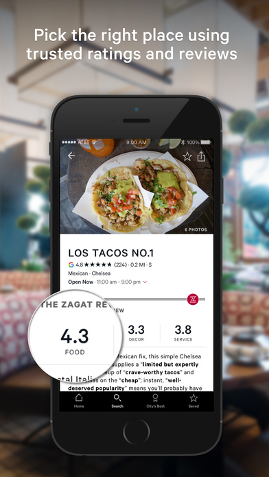 How to use Zagat