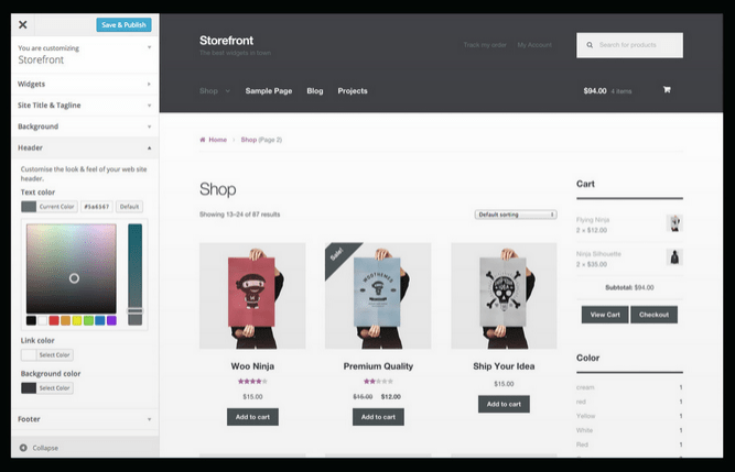 Bootstrap single product woocommerce themes
