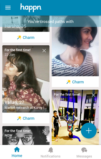 How does Happn work?
