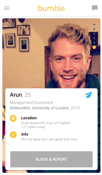 Bumble matches
