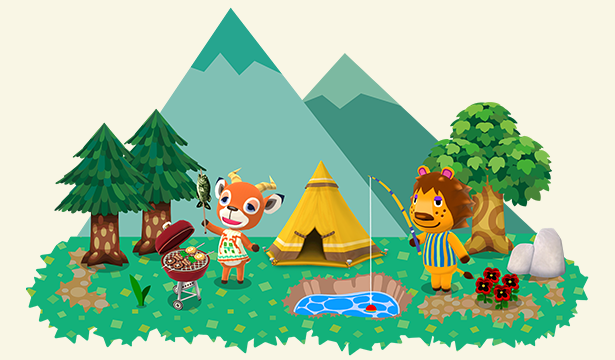 How to use animal crossing pocket camp game mobile app